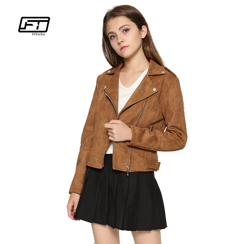 Online Get Cheap Faux Leather Brown Jacket -Aliexpress.com ...