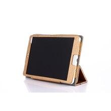 Enzi DHL EMS 3 Folder Silk PU Leather Case Cover For Huawei MediaPad M3 8 4