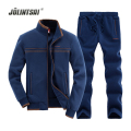 Jolintsai 4 Colors Sportwear Men Suit Sweatershirt+Pant Mens Tracksuit Sets 2017 Long-sleeve Hoodies Suits Men Sudaderas Hombre
