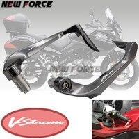 Universal 7/8 22mm Motorcycle Handlebar Brake Clutch Levers Protector GuardFor Suzuki DL650/V STROM VSTROM V STROM 2011 2012