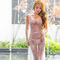Don de novia sexy transparente sin mangas elegante de tulle beach prom dress apliques de encaje vestidos de fiesta de noche vestido de noiva