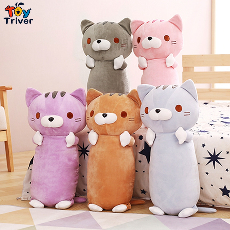 Kawaii stuffed plush cat stuffed anmial toy doll soft pillow baby girl boy kids birthday christmas gift shop deco Triver Toy 1pcs 30cm despicable me 2 stuffed plush toy doll film anime minions pea banana style cotton hold pillow baby kids gift