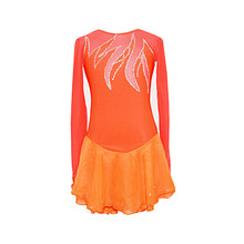 Custom Figure Ice Skating Dresses Adult With Spandex Graceful New Brand Figure Skating Competition Dress DR2605