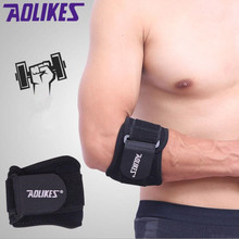 Прибытие Adjustbale теннисные налокотники защитные накладки Гольфист ремень Локоть боковой боли синдром эпикондилит бандаж 1 шт. A