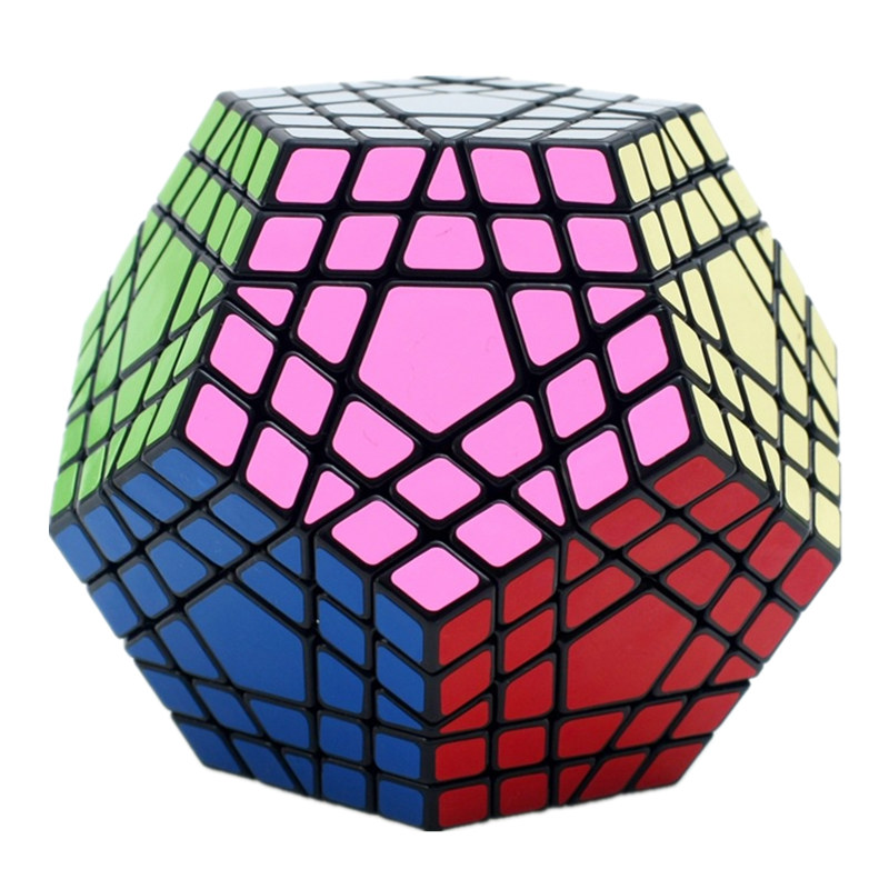 Shengshou Wumofang 5x5x5 Cube magique Megaminx Gigaminx 5x5 professionnel Dodecahedron Cube Twist Puzzle apprentissage jouets éducatifs