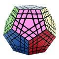 Shengshou Wumofang 5x5x5 cubo mágico Megaminx Gigaminx 5x5 profesional dodecaedro cubo giro rompecabezas de aprendizaje juguetes Educativos