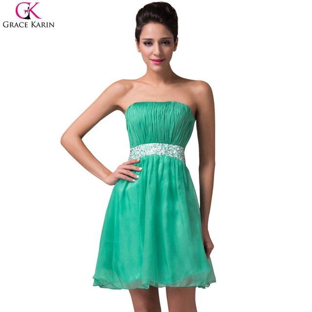 Aliexpress Buy Grace Karin Prom Dresses 2017 Strapless