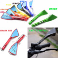 Universal Folding Motorcycle cnc rearview Side mirror  Motorcycle Accessories kit for harley touring  kawasaki  z800 z 800 z-800