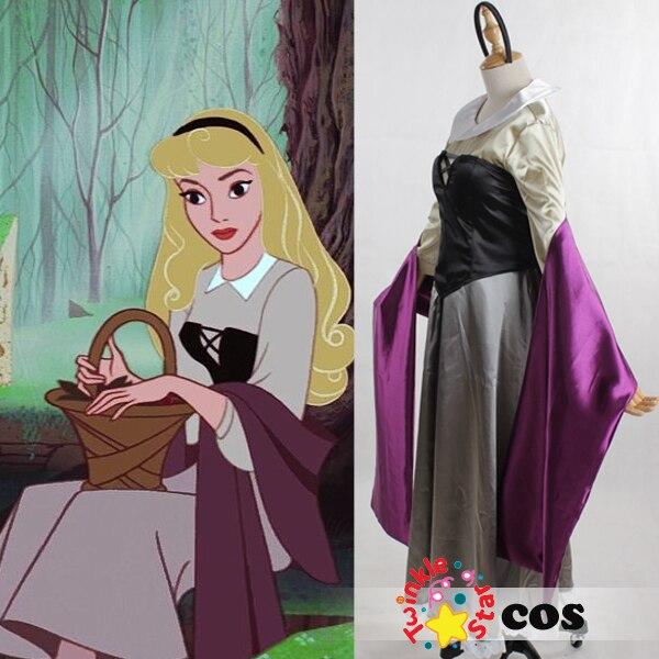halloween costumes for women princess costume women sleeping beauty Princess aurora cosplay Briar rose cosplay costume adult
