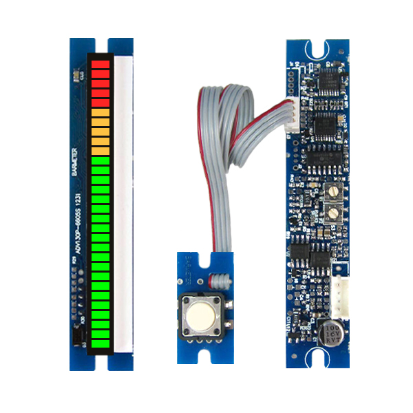 купить PPM table module, 30 segment, LED66mm long sound pressure meter, /DB table / frequency divider, peak hold по цене 2192.24 рублей
