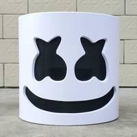 NEW Mask Marshmello Helmet Marshmello DJ Mask Face Hat Music Fans Concert Props Helm High Quality Halloween Christmas Gift