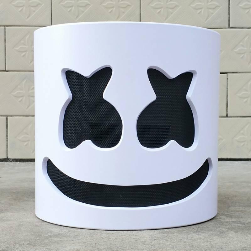 Nouveau masque Marshmello casque Marshmello DJ masque visage chapeau musique Fans Concert accessoires barre de haute qualité Halloween noël cadeau