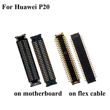 1 комплект для huawei P20 P 20 ЖК-экран разъем FPC для huawei P20 P 20 логика на материнской плате материнская плата на кабеле