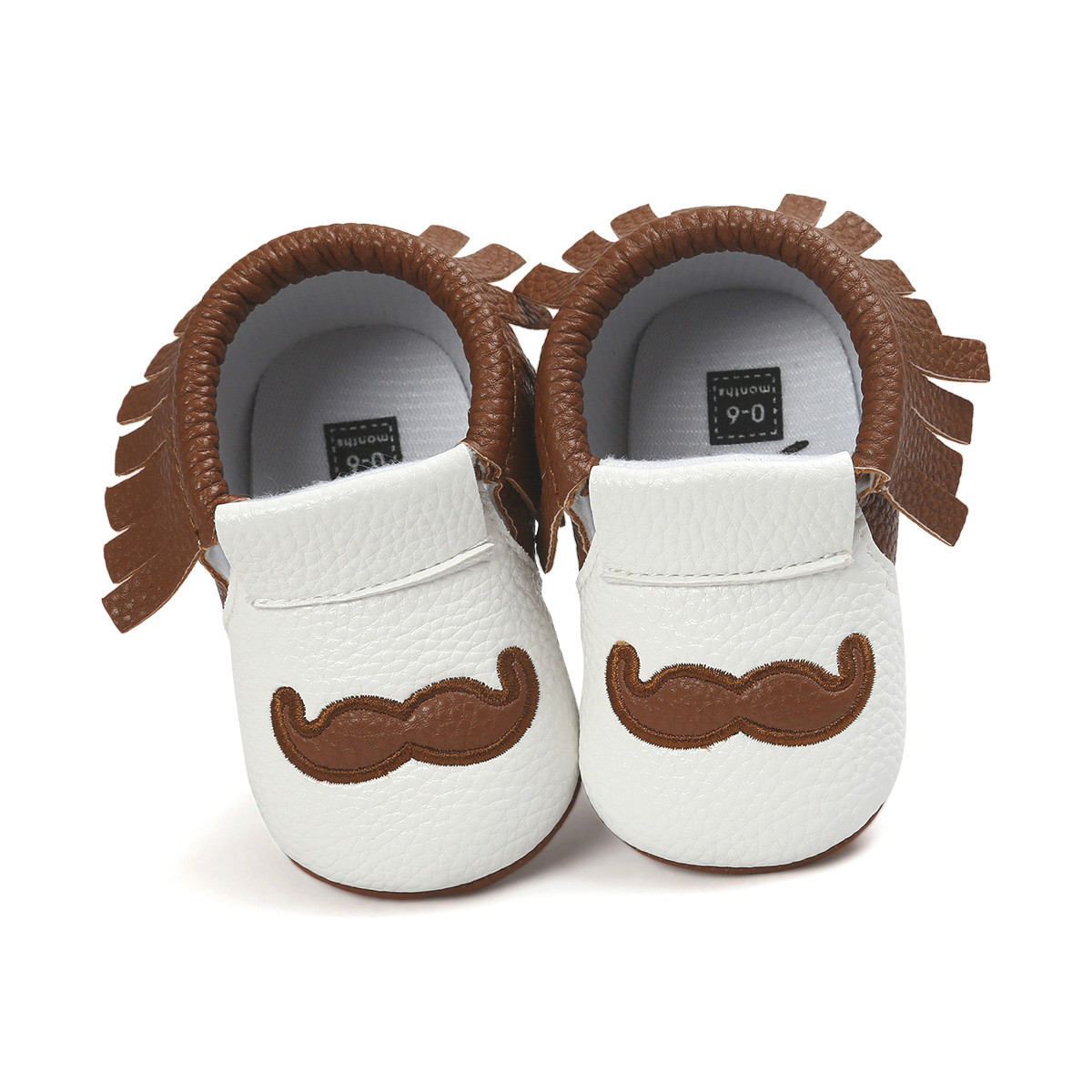 Baby girls boys shoes Pu Leather moccasins newborn infant white boy girl shoes toddler doux bebes chaussure footwear