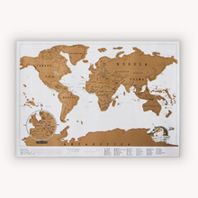 Black Scratch Map World Travel Scratch Off Map Best Gift For Education School Mapa Mundi Mapa 82*58cm