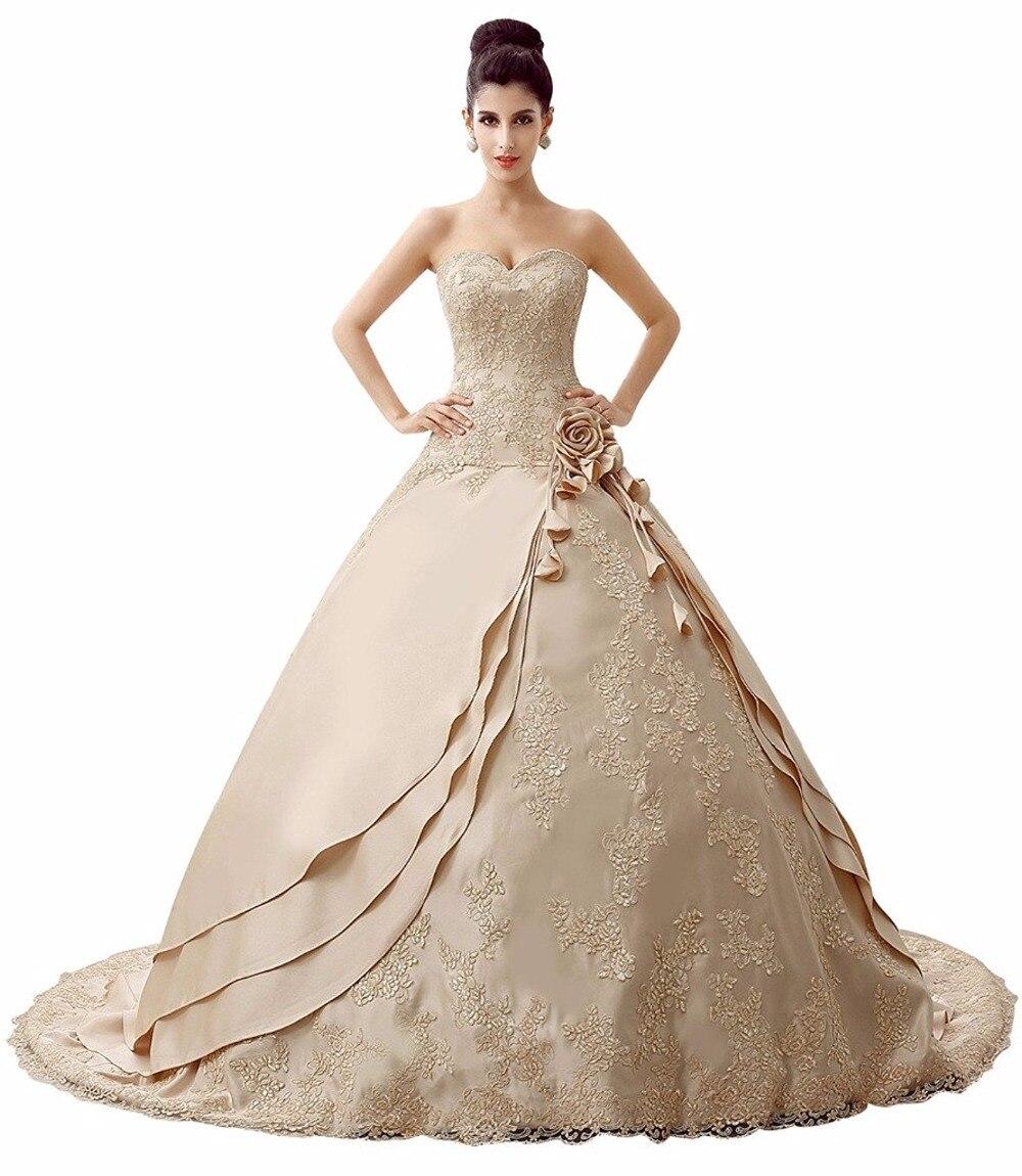 Fantastisch Brautkleid Kathedralezug Zeitgenössisch - Brautkleider ...
