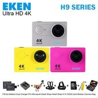 100 Original EKEN H9R H9 H9SE Remote Control Camera 4K Wifi Ultra HD 1080p 60fps 170D