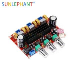 TPA3116D2 amplificateur de caisson de basses numérique carte DC12V-24V 2x50 W 100 W XH-M139 2.1 canaux amplificateur de puissance numérique pour bricolage Audio
