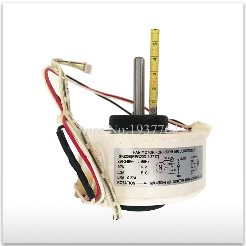 New for air conditioner motor rpg20e rpg20d 2 fan motor for Air conditioner motor price