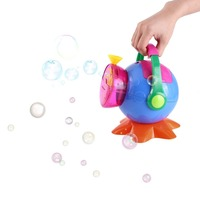 Portable Automatic Bubble Machine Maker Bubble Blowing Soap Bubbles for Outdoor Indoor Party Bubbles Maker Toy Gift Kids Fun