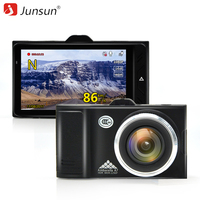 Junsun A795 Car DVR Camera Ambarella A7LA50 2 In 1 LDWS Speedcam Full HD 1296P Video