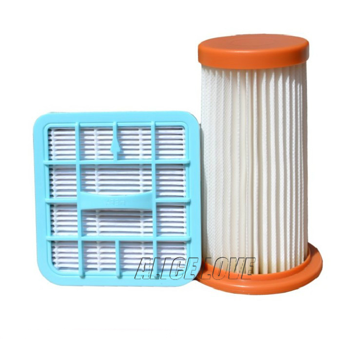 4pcs/2set Vacuum Cleaner Hepa + Filter Element Wind air Outlet for Philips FC8279 FC8230 FC8232 FC8280 FC8234 FC8278 FC8224(China)