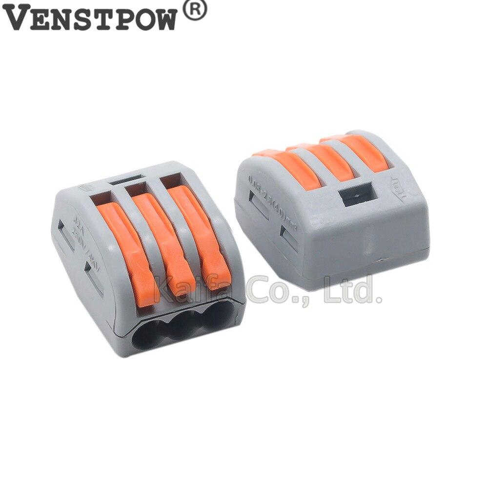 Bloc de bornes Connecteurs /à levier Connecteurs de c/âble Connecteurs compacts
