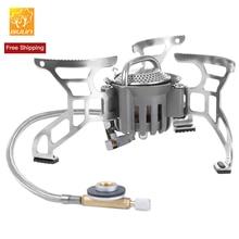 Булин bl100-t4-уличная плита Туристическое оборудование Складная Сплит газовая плита горелки для пикника кухонные принадлежности