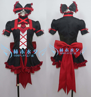2016 Gate Jieitai Kano Chi nite, Kaku Tatakaeri Rory Mercury Cosplay Costume Red Dress