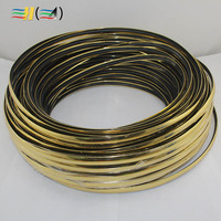 Game Machine Rubber Edge 100 metres a roll plastic Wrapping strip Game chassis Edge strip Wooden box decoration