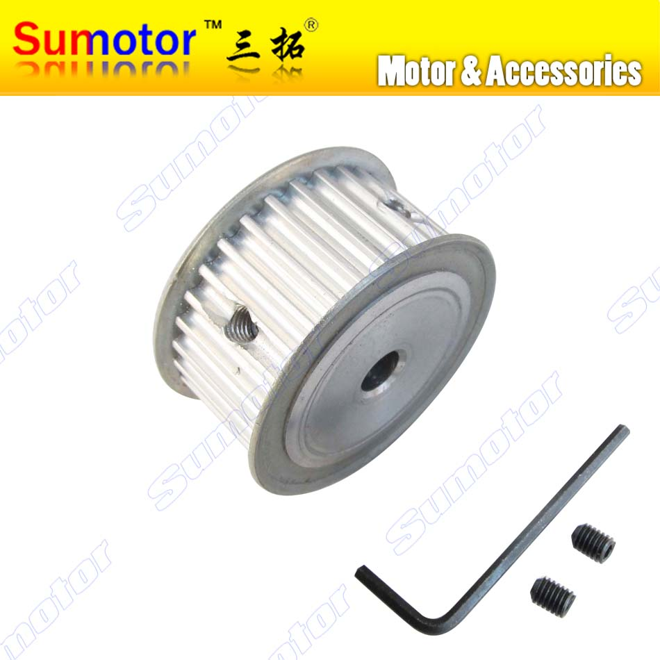 5M 30T Arc HTD tooth 30Teech Pitch 5mm Bore 8mm 10mm Belt Pulleys Timing Pulleys for Stepper Servo Motor DIY CNC part 3D Printer цена 2017