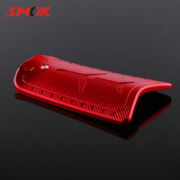 SMOK Motorcycle Scooter Accessories CNC Aluminum Alloy Fuel Gas Oil Tank Cap Cover For YAMAHA NVX 155 Aerox 155