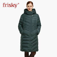 2018 Астрид зима Для женщин куртка Для женщин парки ветрозащитный теплое зимнее пальто высокого качества горячая Распродажа парки FR 1111