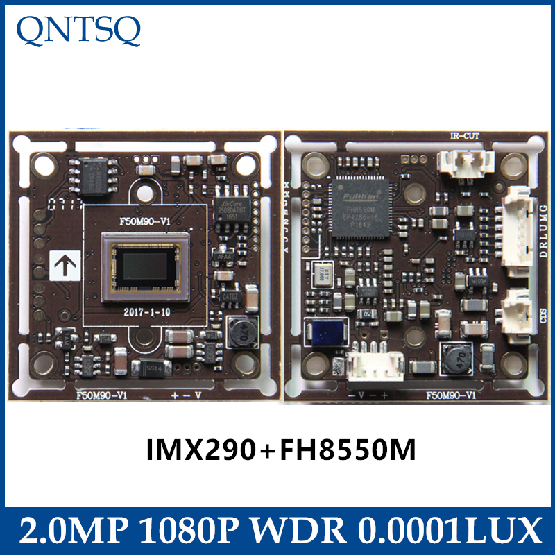 1080P SONY 1/2.8 IMX290 + FH8550M CMOS BOARD 2MP 4in1 WDR StarlightCoaxial high-definition,FOR CCTV AHD,CVI,TVI,Analog CAMERA