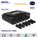 DHL Free shipping 2pcs/lot Outdoor DMX Distributor Console LED Stage Lighting Controller DJ Pro