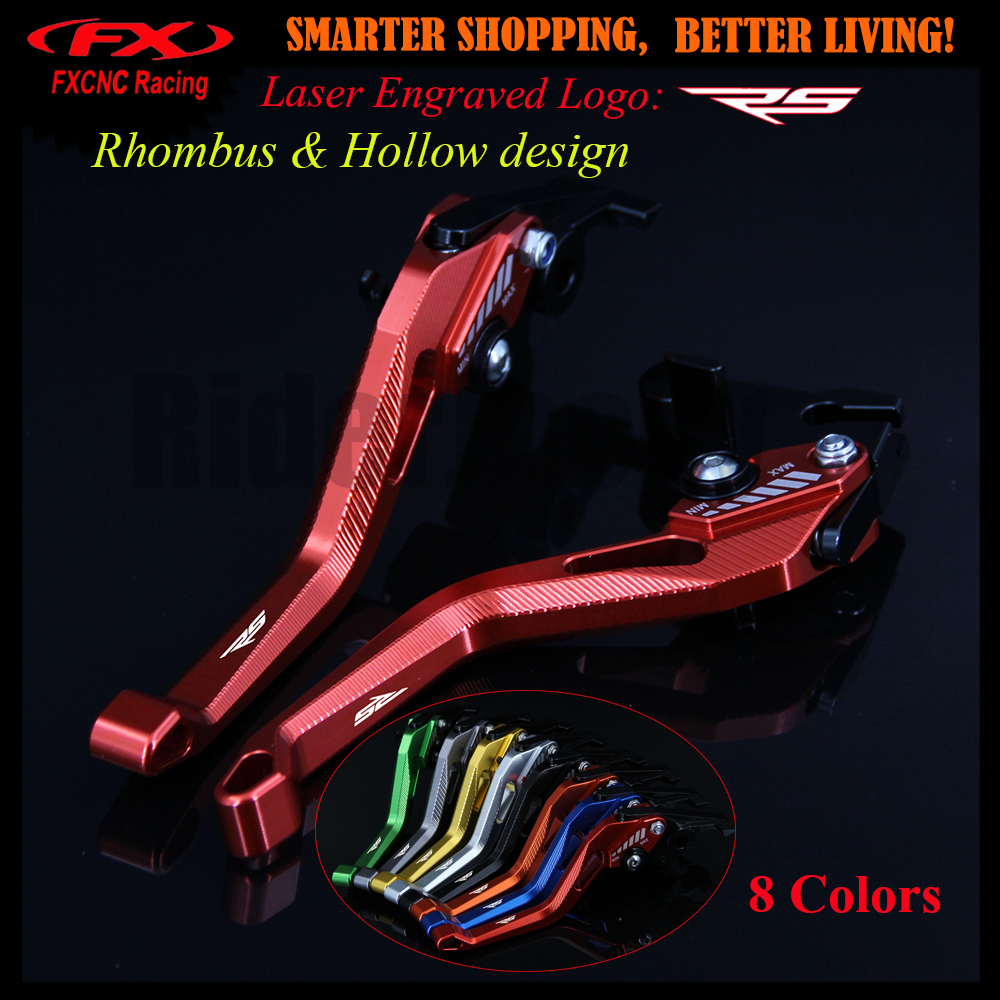 New 3D design (Rhombus Hollow) Red CNC Adjustable Motorcycle Brake Clutch Lever For Aprilia RS50 RS 50 1999-2005 2002 2003 2004 for honda crf 250r 450r 2004 2006 crf 250x 450x 2004 2015 red motorcycle dirt bike off road cnc pivot brake clutch lever
