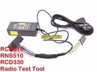 Ferramentas de teste Para VW RCD510 RCD310 RNS510 RNS315 com Botão emulador Canbus luz de Trabalho
