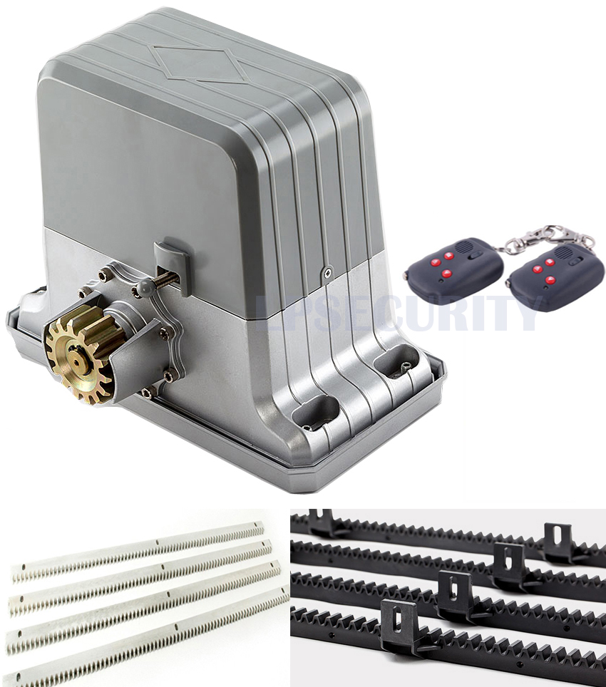 Full Automatic 1800kgs Electrical sliding gate opener sliding gate motor gate operator with 2 4 6