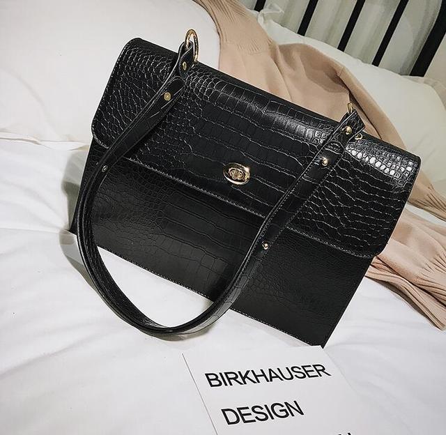 Big Tote Bag PU Leather...