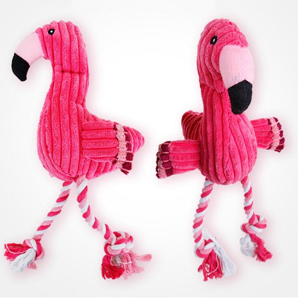 Juguetes Para Perros divertidos y chirriantes con forma de animales, juego de regalo, gran ardilla sin relleno, para masticable para perros, perro, Pájaro Rojo, Juguetes