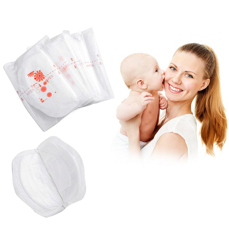 100pcs/bag Disposable Anti-galactorrhea Pads Pregnant Women Breast Milk Pad Super Water-absorbent Breathable Thin Nursing Pads