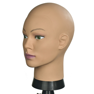 Image 5 - Bald Mannequin Head With Clamp Female Mannequin Head For Wig Making Hat Display Cosmetology Manikin Head For Makeup Practice
