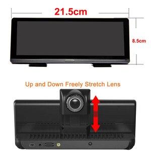 """Image 2 - Bluavido 8 """"Android 4G araba dvrı kamera GPS Navigasyon ADAS FHD 1080P araba video kaydedici Gece Görüş WiFi uzaktan kontrol monitörü Dash kamera"""