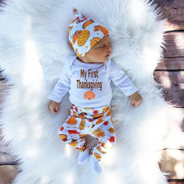 2016 Мода Мультфильм Дети мальчиков Одежда Устанавливает 100% хлопок девочка одежда 3 шт. с длинным рукавом младенческой Комбинезон + брюки + шляпа