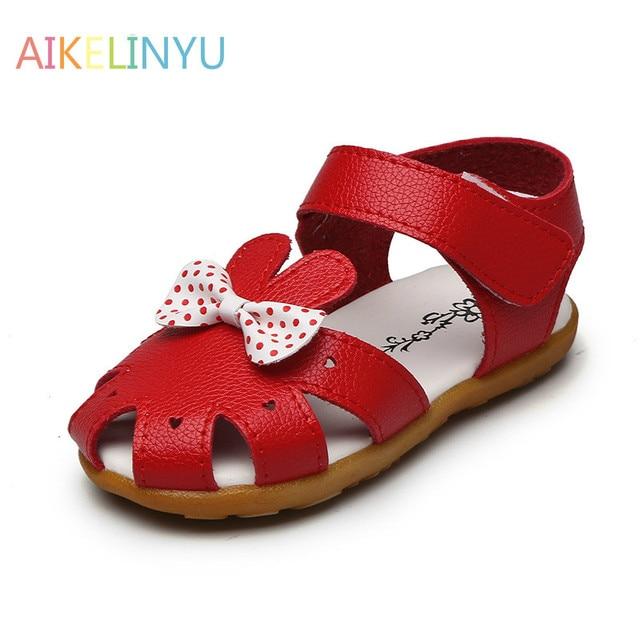 8db8061b33f 1-2-6 años niñas sandalias de verano para niños niñas sandalias de cuero