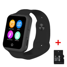 No.1 D3 Smart Watch Phone Android Sim Card Heart Rate Monitor Colorful Intelligent wristwatch with Camera MTK6261 Smartwatch