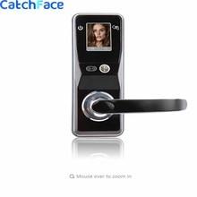 Электронный дверной замок, улучшенный Умный Замок с функцией распознавания лица, цифровой сенсорный экран, с безключевым распознаванием лица