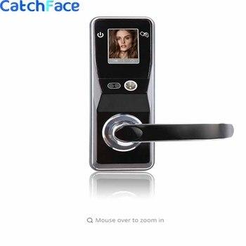電子ドアロック高度なスマート顔認識ドアロックセキュリティデジタルタッチスクリーンレス顔ドアロック|電気錠|セキュリティ & プロテクション -
