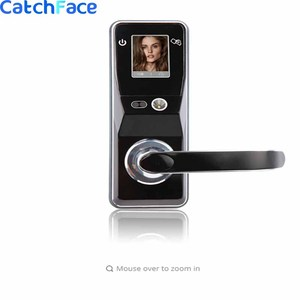 Image 1 - Electronic Door Lock Advanced Smart Facial Recognition Door Lock Security Digital Touch Screen Keyless Face Smart Door Lock
