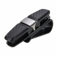 Multifunction Auto Car Eyeglasses Clip Ticket Card Clamp Glasses Cases Sun Visor Sunglasses Holder Accessories